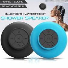 Hands-free Waterproof Wireless Bluetooth Mini Speaker Mic Suction For Shower
