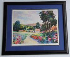 """Alex Perez Seriolithograph """"The Chapel"""" 2000 151/2"""" X 201/4"""" With COA  Framed"""