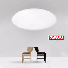 36w Led Ceiling Light Lamp Round Surface Mount Lobby Room Kitchen Bathroom 6000k