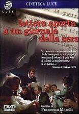 Lettera aperta a un giornale della sera (1970) DVD Nuovo Francesco Maselli