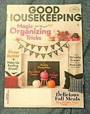 Good Housekeeping Magazine Halloween Decorations Fall Meal Recipes October 2019
