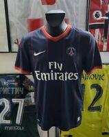 Maillot jersey shirt maglia PSG paris Saint germain vintage 2009 2010 09/10 M