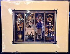 Disneyland Resort Haunted Mansion 45th Stretch Room Deluxe Print Darren Wilson