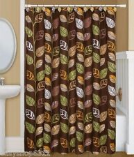 "PRINTED FABRIC SHOWER CURTAIN   70""X 72"" BY BETTER HOME NEW WITH TAGS"