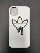 White adidas logo Protective Case iPhone 11