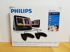 Philips PD7012G/37 7-Inch Dual Screen Portable DVD Player