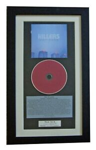 THE KILLERS Hot Fuss CLASSIC CD Album GALLERY QUALITY FRAMED+EXPRESS GLOBAL SHIP