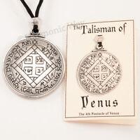 TALISMAN of VENUS Magic Pentacle Solomon Seal Pendant Necklace Love Jewelry