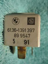 SHIPS SAME DAY! BMW 1391397 Auxiliary Fan Diode Relay 61.36-1 391 397