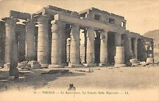 BR54011 Le Ramesseum Thebes egypt