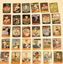Lot of (36) 1988 1990 Baseball Legends Autographed Signed Cards