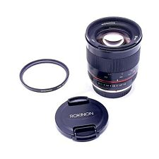 Rokinon 50mm F1.2 AS UMC High Speed Lens for Olympus & Panasonic - RK50M-MFT