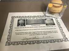 Burleigh Grimes Single Signed NL Baseball