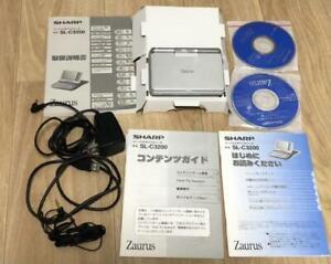 Sharp Zaurus SL-C3200 Mint! rare model Last Linux OS boxed with Many accessories