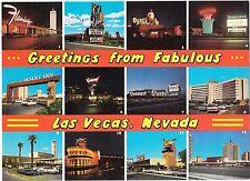 Huge Stardust Thunderbird Sands Riviera Hotel Casino Postcard Las Vegas NV 12 vu