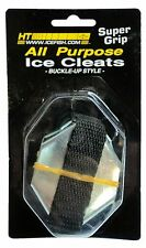HT All Purpose Ice Cleats; TWO Prs. Buckle Up Style-Adjustable-Fits Most #ICB-10