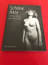 SCHÖNE AKTE Aktfotografie in der DDR FKK Bildband Aktfotos Buch Book #B153