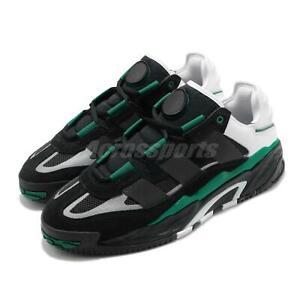 adidas Originals Niteball Black White Green Men Casual Shoes Sneakers FW2477