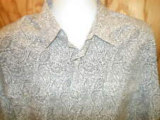 Roper pearl snap button Western mens shirt XXL LONG SLEEVE