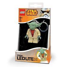 Lego Star Wars Yoda LED Key Light Keyring MIB