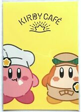 LAST LIMITED Nintendo Kirby Cafe Postcard 2016 Cotton Candy Waddle MADE IN JAPAN