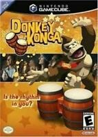 Donkey Konga - Nintendo Gamecube Game Authentic