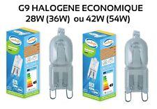 AMPOULE G9 HALOGENE 30% ECONOMIQUE CHOIX  de 36W (28W) ou 54W (42W)