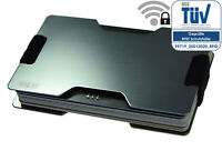Kreditkartenetui RFID Blocker Schutzhülle Alu NEU Wallet>10Karten EC Kartenhülle