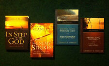 Charles Stanley Collection:  4 Books including In Step With God