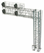 BLMA HO Scale Modern Cantilever Right Hand Signal Bridge Assembled Lighted 4031