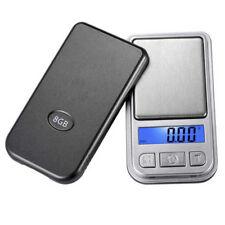Pocket Digital Jewelry Scale Weight 200g x0.01g Balance Electronic Gram Mini LCD
