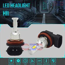 2020 New H11 H8 H9 Led Headlights Bulbs Kit 50W 4500Lm 6000K White Error Free
