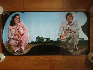 THE CARPENTERS 1970s JAPAN Kyodo Tokyo Official Promo Poster