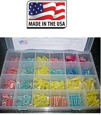 3M Heat Shrink Wire Terminals Kit ALL TYPES (480 pcs)  MARINE AUTO Made in USA