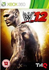 WWE 12 xbox 360 ~ (en très bon état)