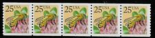 US Scott #2281, Plate #2 Coil 1988 Honeybee 25c VF MNH