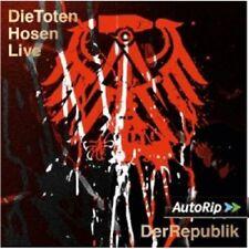 DIE TOTEN HOSEN - LIVE:DER KRACH DER REPUBLIK 2 CD NEW+