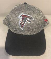 Atlanta Falcons New Era Draft 39THIRTY Flex Hat - Heather Gray NFL Small Medium
