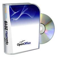 █ Open Office Paket 2019 Textverarbeitung Schreibprogramm für Windows & Mac