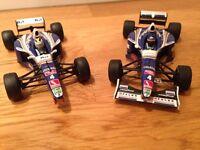 2x Williams-Renault 1997 F1 FW19's World Champions - Onyx & Minichamps