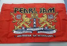 Pearl Jam Official 2012 Amsterdam Netherlands Concert Flag! +Free Gift!