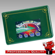 VDF Close Up Pad / Mat / Surface  - Green with Aces - Magic - Standard Size