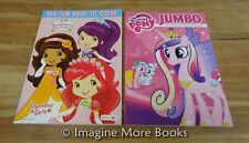 2 NEW Coloring Books ~ Strawberry Shortcake & Little Pony ~ Combined Shipping