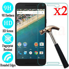 2Pcs 9H Premium Tempered Glass Film Screen Protector For Google Nexus 6P & 5X
