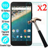 1-2x 9H Premium Tempered Glass Film Screen Protector For Google Nexus 6P & 5X