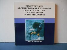 F Goddio . DISCOVERY OF A 18th CENTURY TRADING VESSEL IN THE PHILIPPINES .1988.