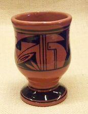 Ute Mountain Native American Pottery Pedestal Mug Coffee Cup Traditional Design