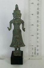 SUPER RARE! Old Khmer Bronze Goddess Uma Parvati