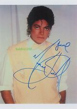 MICHAEL JACKSON SIGNED 10X8 PHOTO, GREAT STUDIO IMAGE, LOOKS GREAT FRAMED