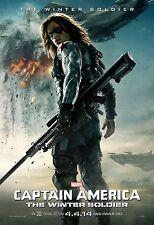 Captain America The Winter Soldier (2014) Movie Poster (24x36) - Sebastian Stan